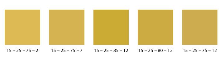 Gold im CMYK-Farbraum darstellen » flyerwire - Der Blog